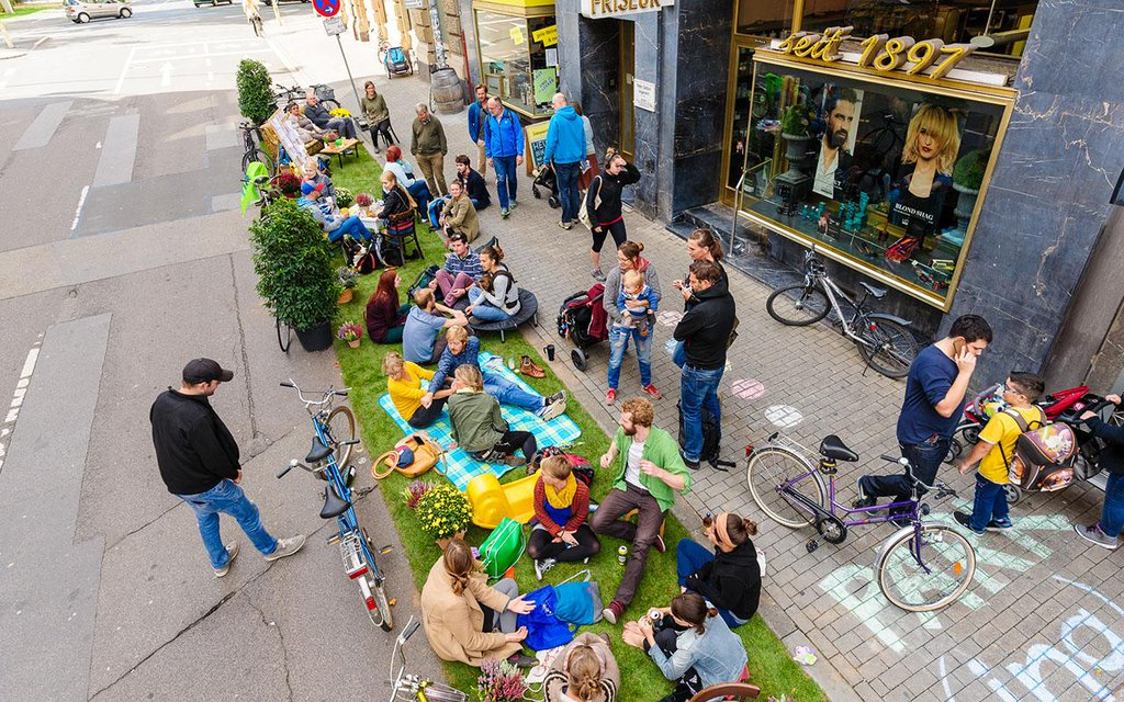 PARK(ing) Day 2015 in Mainz